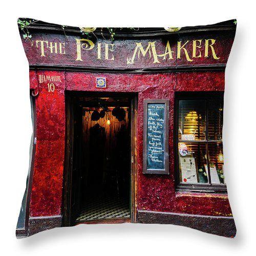 The Pie Maker, #throwpillow #galway #ireland #shopfront #door