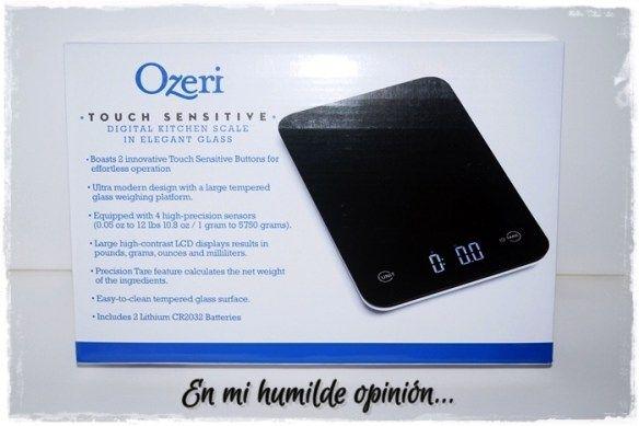 Báscula digital de cocina y Sartén con revestimiento antiadherente OZERI