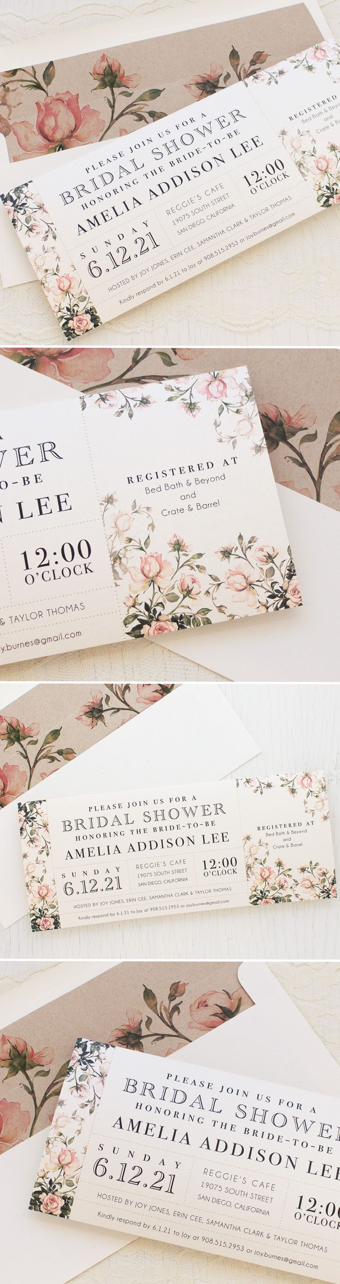 632 Best Wedding Invitations Images On Pinterest Invitations