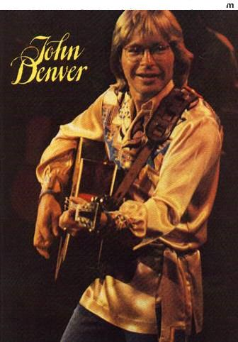John Denver - Concert Program- Miss this man. What a wonderful singer, musician, and Animal-Environment Activist.