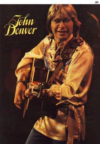 John Denver - Concert Program- Miss this man. What a wonderful singer, musician, and Animal-Environment Activist.