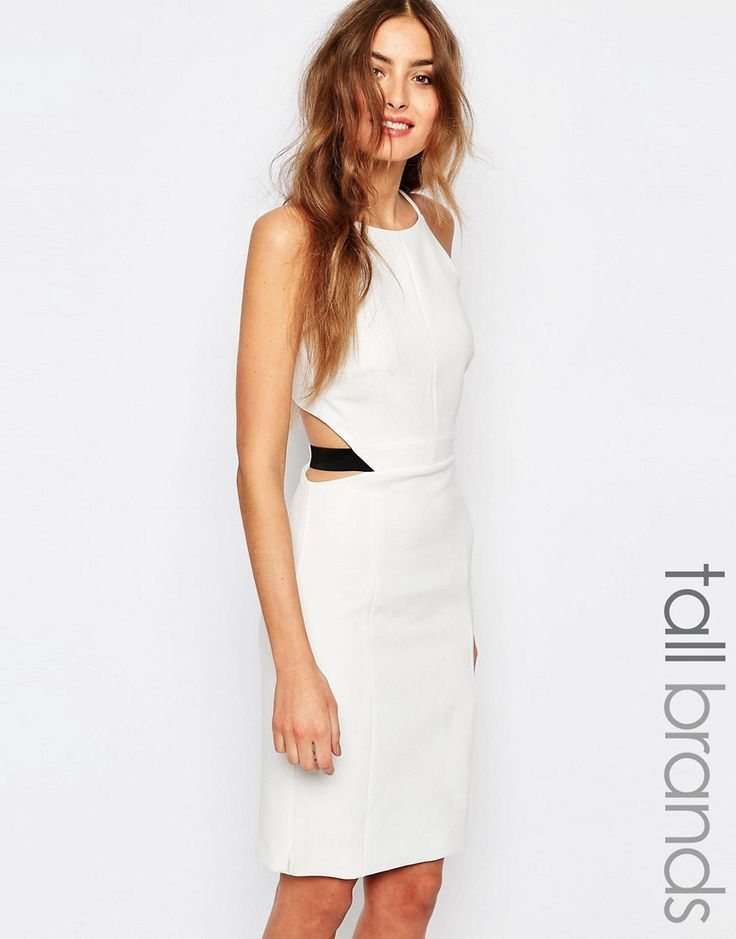 Image 1 of Vero Moda Tall Zip Back Dress