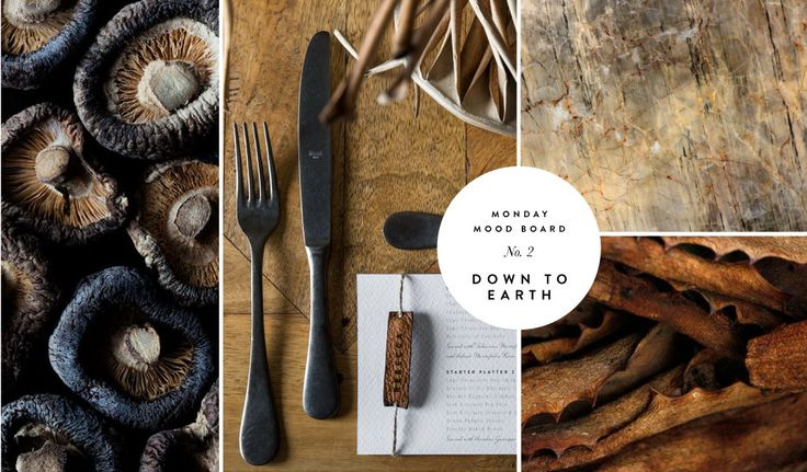 Monday Moodboard 2 - Down to Earth | www.secretdiary.co.za | Secret Diary Stationery