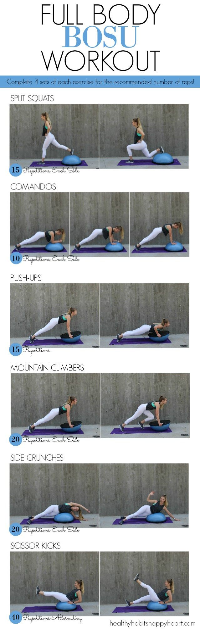 Full Body BOSU ball Workout!| Posted By: CustomWeightLossProgram.com