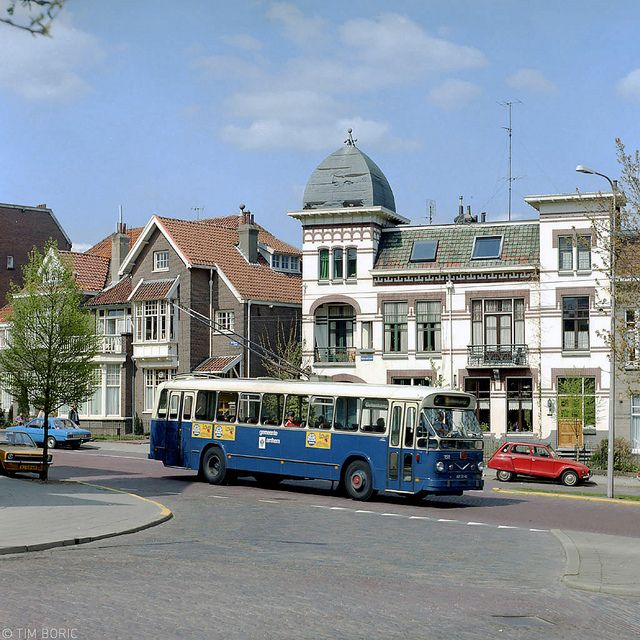 Trolleybus Arnhem.