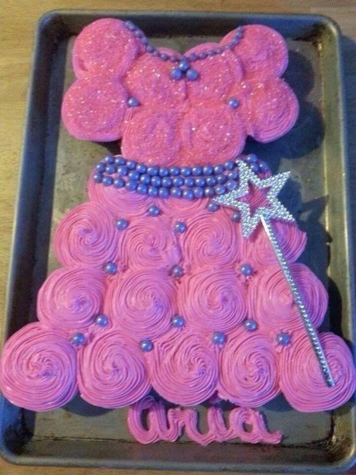 Pink and purple cupcake dress