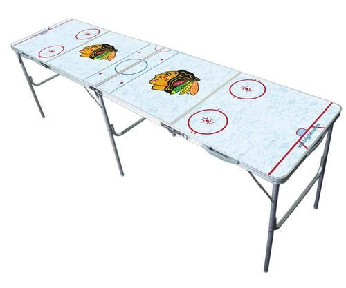 Chicago Blackhawks Portable Folding Lightweight Party Table