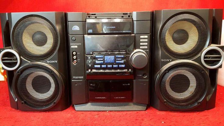 Sony MHC-RG70AV - minihifijärjestelmään -komponenttijärjestelmä Hyvä | Ennemmin Valtion Sotilas LLC | Oklahoma City | kunnossa
