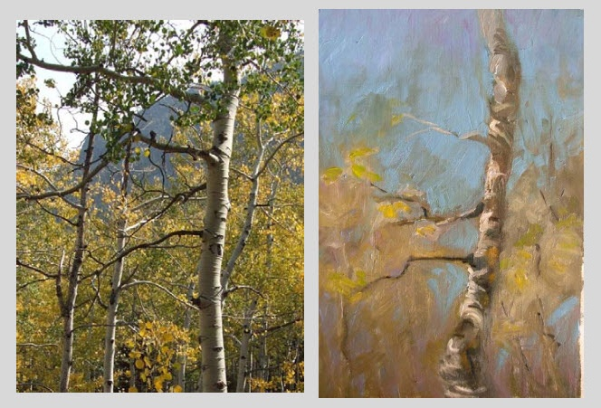 Absolutely wonderful demo of how to paint a complex scene.  This is from the Virtual Art Academy Newletter.  I would encourage anyone to subscribe...it's full of helpful information.  And, this is one of the best examples of how to paint great paintings I've seen.  I hope they do more of these side by side examples.  It's wonderful to be able to compare the painting with the real subject!