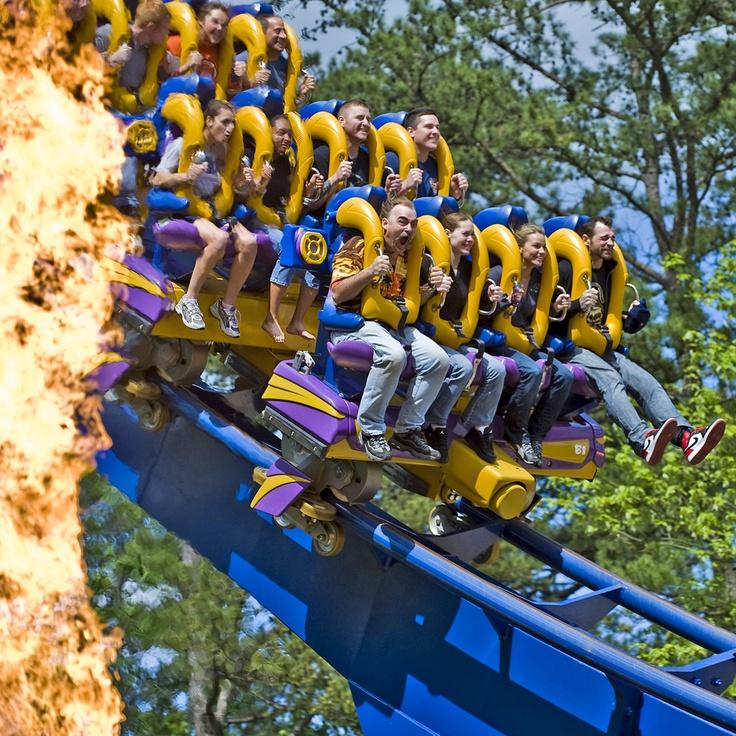 Bizarro at Six Flags Great Adventure. #SixFlags
