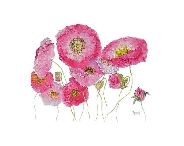 Dancing Poppies  #poppyart #poppypainting #poppiespainting #flowerpaintings #paintingsofflowers #floralwallart #poppycanvasart