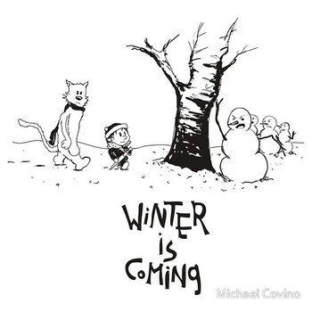 Jon and Ghost by Michael Covino: Winter Is Coming, Games Of Thrones, Ghosts, Jon, Calvin And Hobbes, Things, Winter Is Come, T Shirts, Michael Covino
