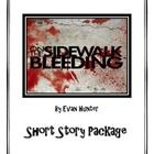 Read On the Sidewalk Bleeding and use this printable package to engage your students.  10 Worksheets: - Vocabulary - Getting into Character - Andy'...