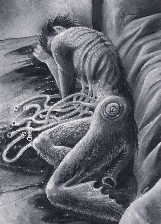 "bizarrobrain: """"The Dunwich Horror by Ian Daniels "" """