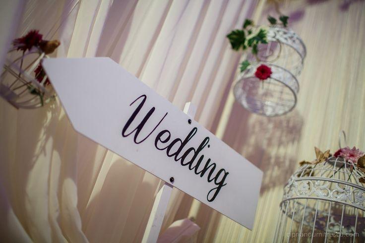Sageata wedding (Wedding sign)