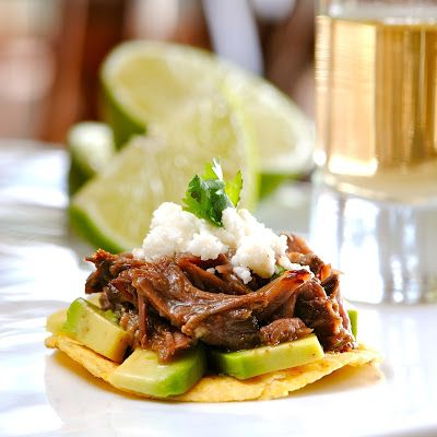 JULES FOOD...: Barbacoa Beef Cheeks - Slow Cooker Style For oven: 300º 4 hrs, covered
