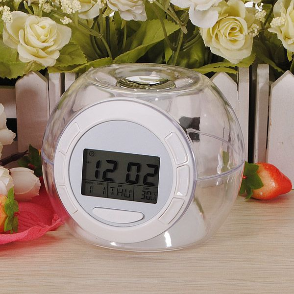 7 Couleur LED Digital Réveil Matin Horloge Thermomètre Alarme Sonnerie Clock NEW | eBay
