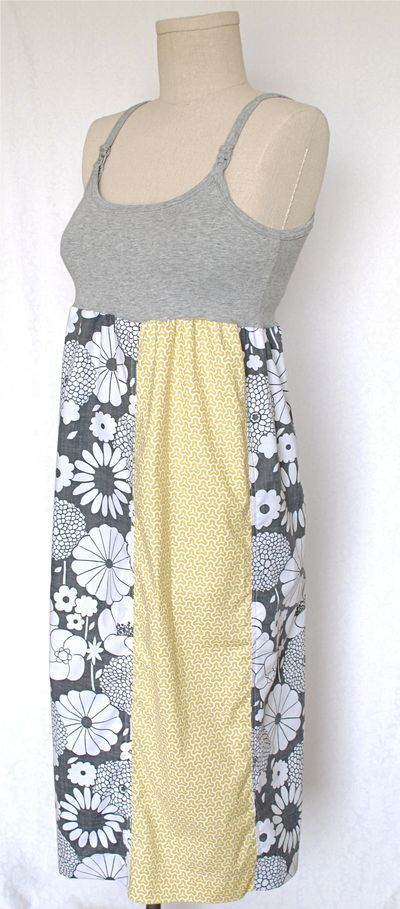diy nursing dress!! Oh how I need a couple of these!! Sarah!!! Lets go get fabric!!