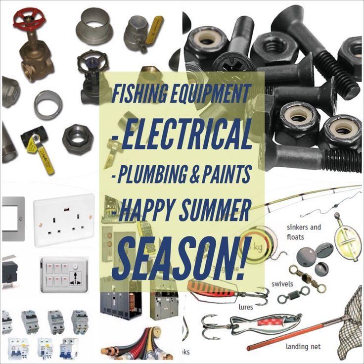 "Fishing Equipment, Electrical, Plumbing & Paints ""G. Manjaris - Ch. Daglas"""