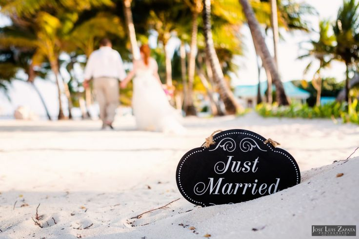 Just Married! Victoria House – San Pedro, Ambergris Caye.  #Belize #Wedding #Elopement