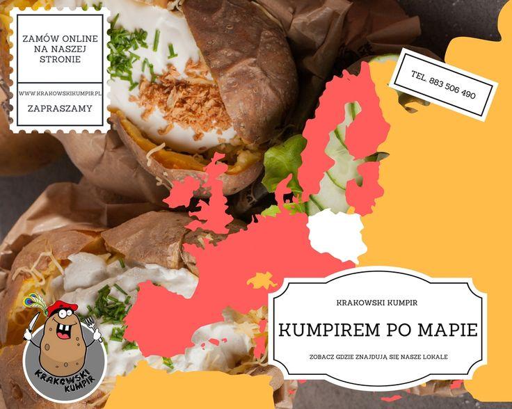 ☛ KUMPIREM PO MAPIE ☚ NASZE LOKALE ☛ http://krakowskikumpir.pl/lokale/ ☚ ZAPRASZAMY ☼  #krakowskikumpir #kumpir #mapa #bar #pieczonyziemniak #ziemniak #kraków #krakow #rzeszów #warszawa #stolica #katowice #polska #googfood #food #jedzenie #zawsześwieże #wakacje #lato #przygoda #wakacyjnykumpir #online