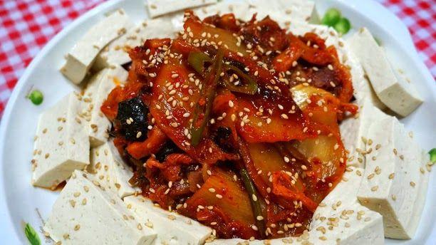Tofu Kimchi (Dubu Kimchi 두부 김치) ~ Gastronomy of the World