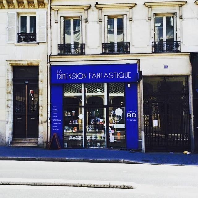 La dimension fantastique à Paris, Île-de-France