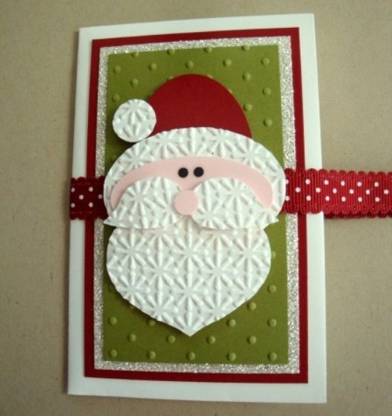 santa christmas cards creative handmade christmas cards