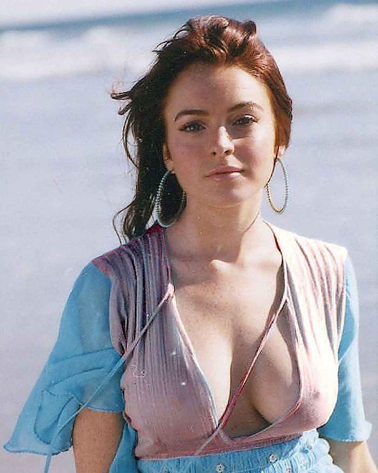 Hollywood World Hollywoodwoorld Agrego Una Foto A Su Cuenta De Instagram Lindsay Lohan Beautiful Redhead Redheads Red Hair