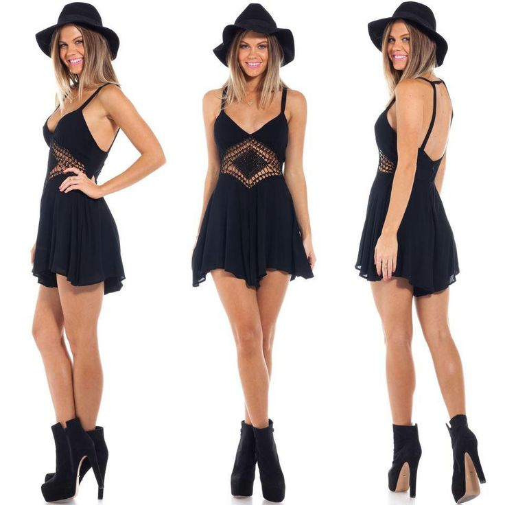 Havana playsuit $60 + free express shipping Shop now: www.showpo.com/havana-playsuit-in-black