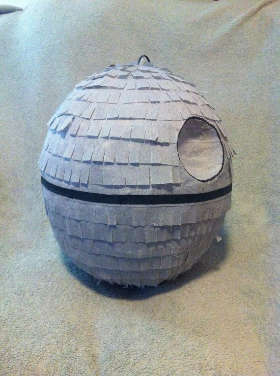 how to make a paper mache star wars