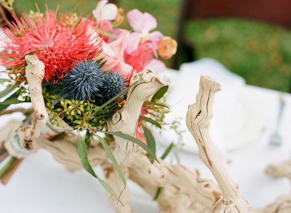 Wedding Flowers On Oahu : Elegant oahu wedding flowers and driftwood