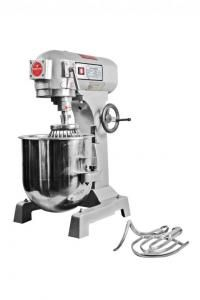 Mixer  Made In Taiwan yang mempunyai kapasitas 7 hingga 40 liter yang baik untuk mengaduk berbagai adonan kue maupun roti. Mempunyai 3 mata pengocok di tiap tipenya, awet, tahan lama, dan bergaransi. Dapat mengaduk setiap adonan mencampurnya dengan baik dan merata.  Mixer Victoria 10 liter Voltage : 220 volt Power : 350 watt Speed (RPM) : 2-170/360 Packaging Size : 470 x 420 x 600 mm Weight : 60 kg Kapasitas Tepung : 1.5 kg Adonan Basah : 3 kg Mangkuk Adonan : 10 liter