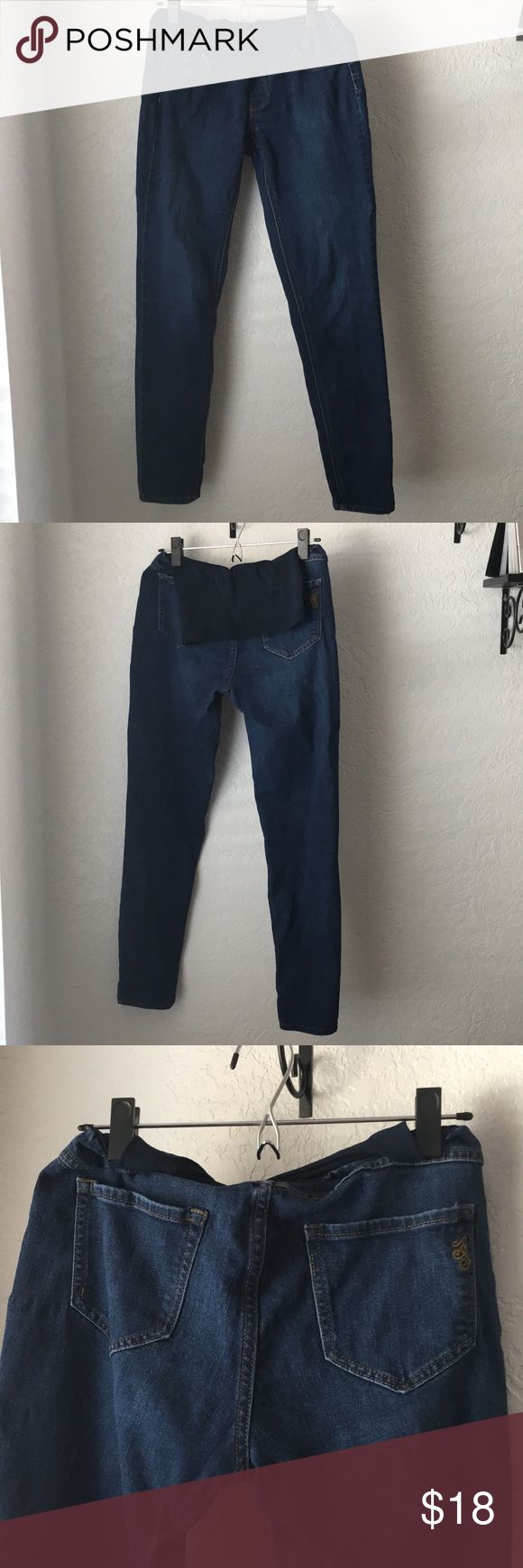 Jessica Simpson Maternity Jeans 👖 Jessica Simpson Maternity Jeans size Medium with full belly panel. great condition! Smoke free home. Jessica Simpson Jeans Straight Leg