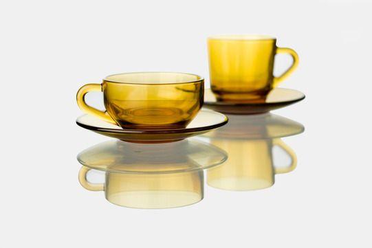 アデリア60 コーヒーカップ&ソーサー - D&DEPARTMENT
