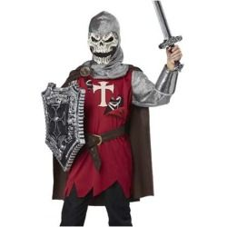 skull knight boys medieval halloween costume - Halloween Scary Costumes For Boys