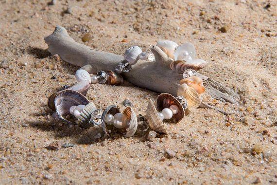 Zoetwaterparels zee schelpen armband parel armband kralen