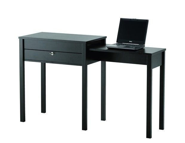 Lille bord med udtr k side table with pull out space - Ikea lille catalogue ...