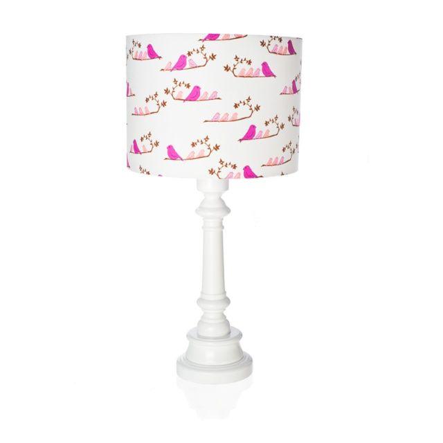 """Lampa dla dzieci """"Ptaszki magenta""""  Zobacz inne produkty: http://bit.ly/1mHiui1  #lamps #forkids #design #dizajn #birds"""