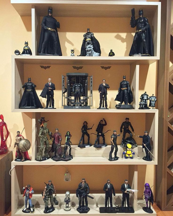 188 best action figure display cases images on pinterest