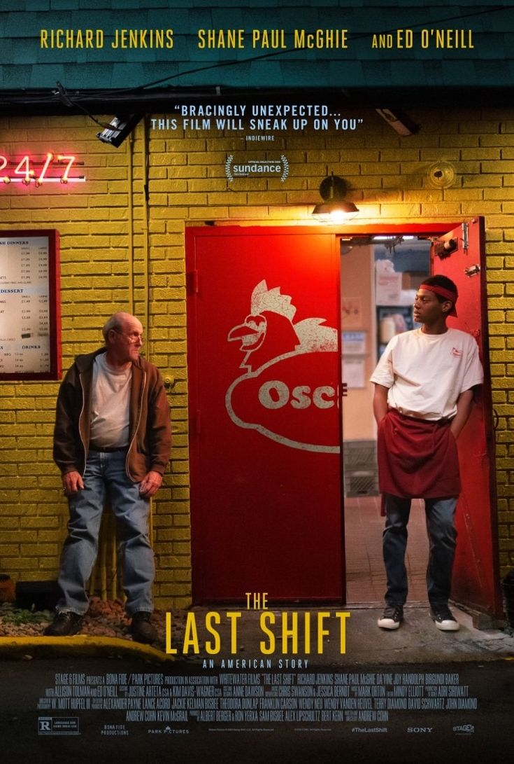 The Last Shift in 2020 Richard jenkins, Latest movie