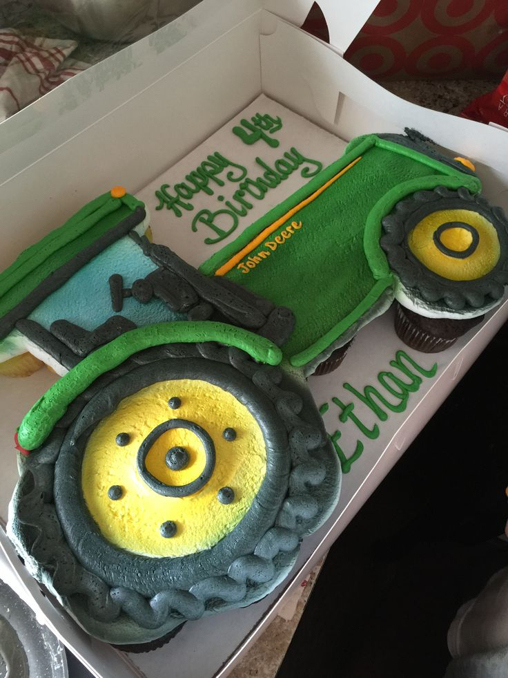 70 best Johndeere cakes images on Pinterest Birthdays