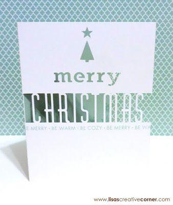Lisa's Creative Corner: Artfully Sent Christmas Card