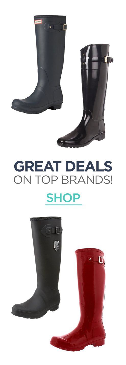 Get the best rain boot deals! Shop the different colors and styles to find a clearance deal in your size. Kamik, Hunter, Nomad, Joules, London Fog, and many more! #rainboot #rain #boots #spring #AffiliateLink