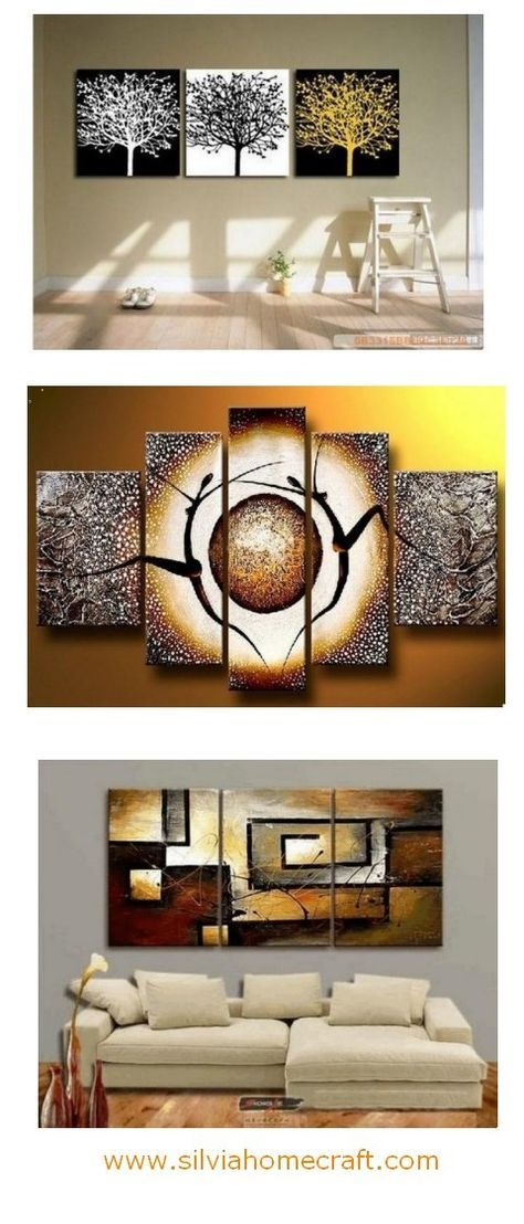 black and white art abstract painting 3 piece canvas painting rh pinterest com