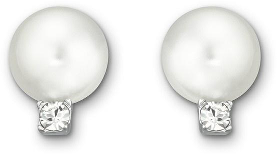 Swarovski, Tricia: Pierced Earrings, $98