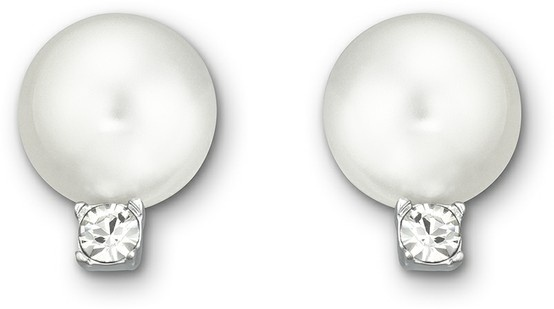 Swarovski, Tricia: Pierced Earrings, $98