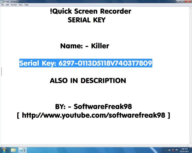 I screen recorder 7.0.1.298 serial