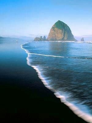 Cannon Beach, Oregon  I am interested in the Oregon Coast. I have a close friend of mine moving there in a week. I fell in love with the idea of having the beach and mountains all in one place.