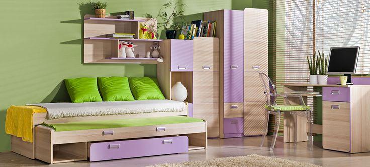 Kiváló minőségű elemes gyerekbútor: Lorento